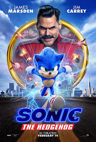 Sonic the Hedgehog in XDX poster