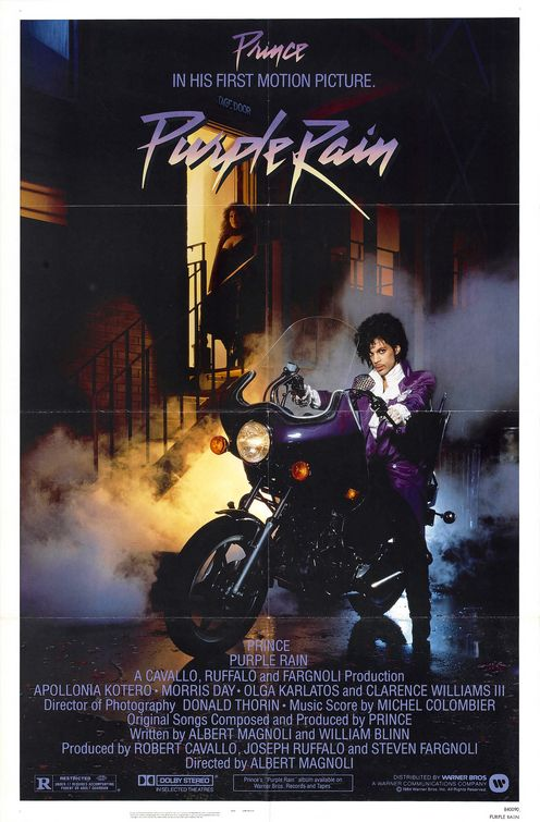 Star Wars Force Awakens/Purple Rain poster