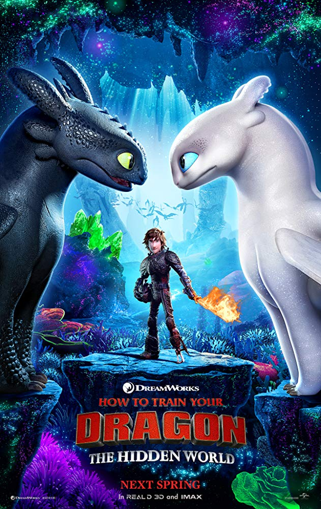 How to Train Your Dragon: Hidden World. poster